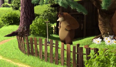 05 masa a medved avi animovan  avi