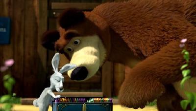 12 masa a medved avi animovany avi